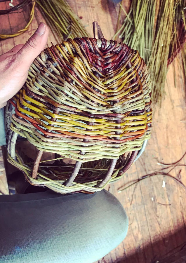 Basket Weaving with Linda Limeux