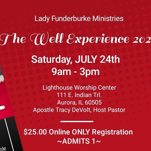 Sat. Virtual Women ONLY - The Well Experience 2021 Women's Empowerment