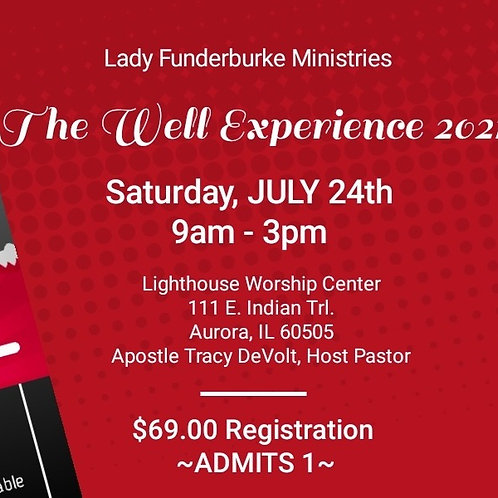 Sat. In-Person ONLY - The Well Experience 2021 Women's Empowerment