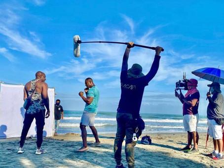 Hemos culminado las grabaciones de la serie Mano Dura, en Galerazamba. Próximamente en sus pantallas