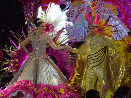 Puerto Colombia se vistió de Carnaval; coronó a su monarquía real