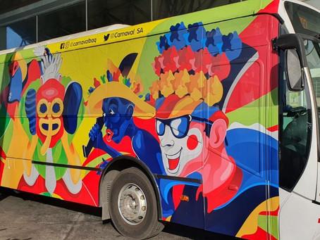 El bus carnavalero de los barranquilleros