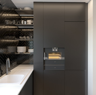 Skandinaviško minimalizmo interjeras