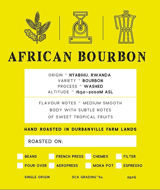 AFRICAN BOURBON