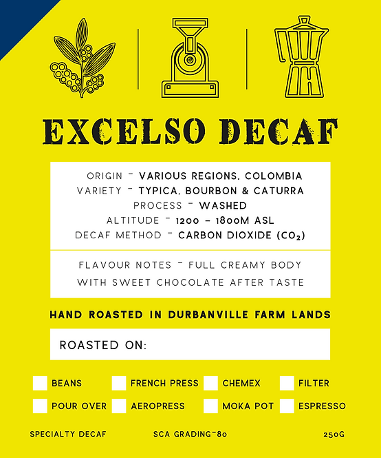 EXCELSO DECAF