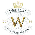 _The WedLuxe Glitterati are the elite pu