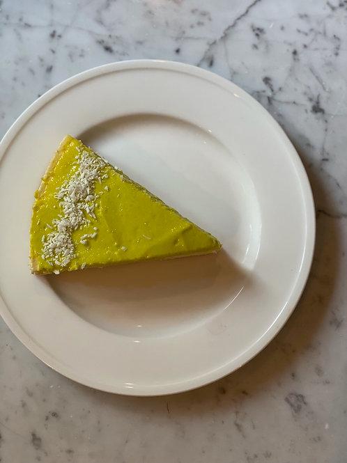 "{253} CHEESECAKE SLICE - Lime (9"", 240G)"