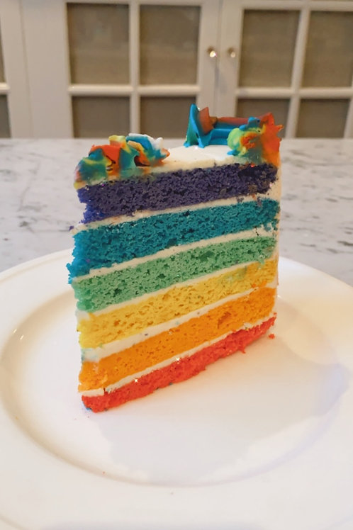 Cake Slice RAINBOW 🌈 (#117)