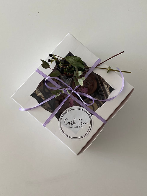 Large Chocolate Gourmet Gift Box (Decorated)