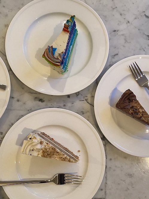 CAKE Sampler - Rainbow, Carrot Cake, Turtle (#197)