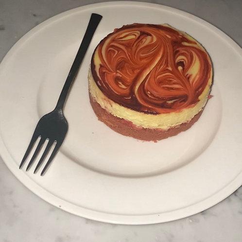 """(#136) 4"""" Cherry Cheesecake"""