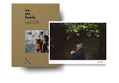 "Fotografia e Livro Autografado: ""we, the family"" de Luciana Valles"