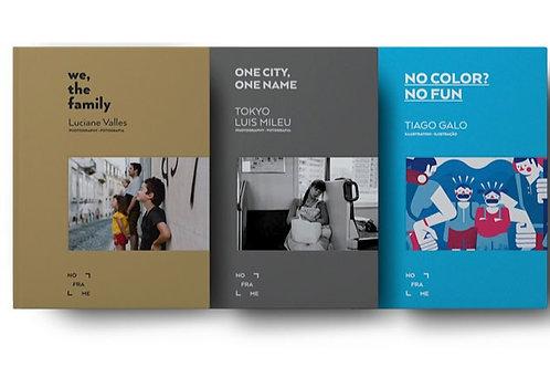 Oferta Especial 3 Livros de No Frame Publishing