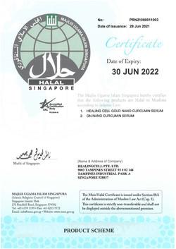 Halal Cert 2021
