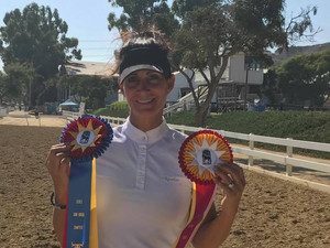 """DHS Sold """"Evita"""" wins Overall High Point @ Del Mar"""