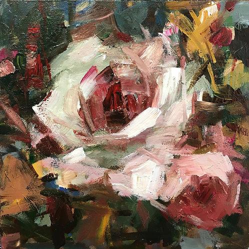 Autumn Rose, unframed