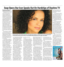 Interview with Victoria Rowell