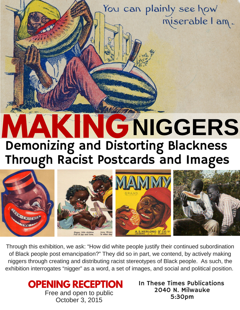 Making Niggers flyer final