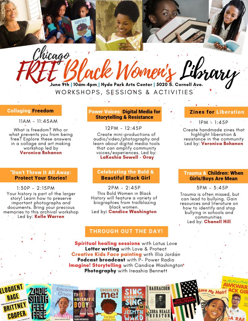 Schedule - Free Black Women's Library