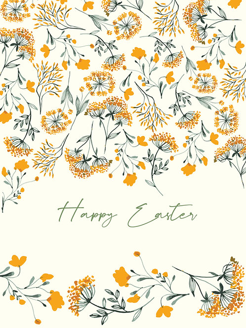 Easter Yellow flowers
