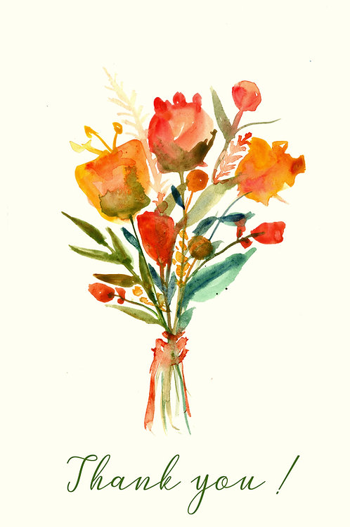 Thank you Orange Flower