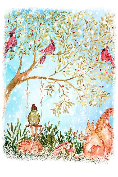 Winter Harmony - Christmas Card
