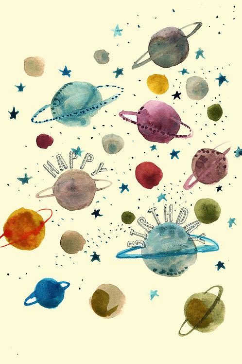 Happy Birthday-Planets