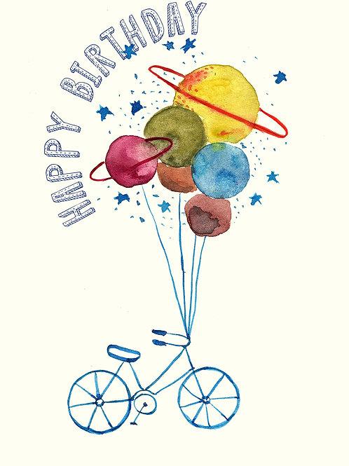 Happy Birthday-Bike Planets