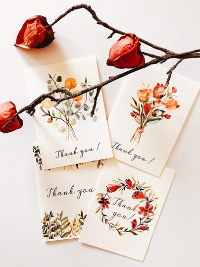 Greeting cards sets