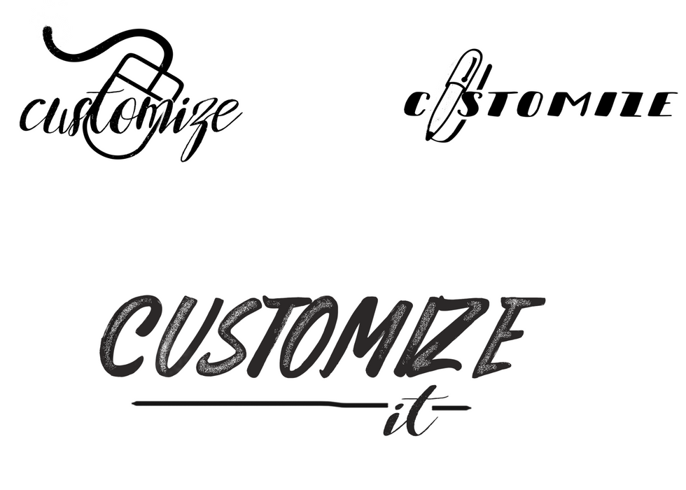 Customize Logo Options