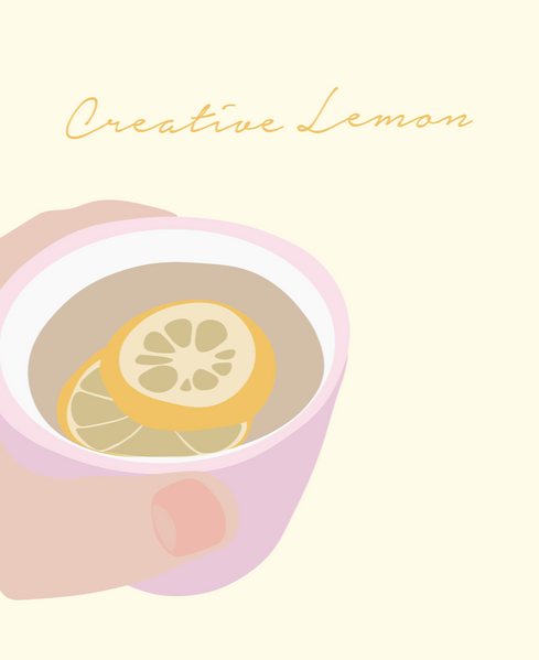 Creative Lemon Print Project