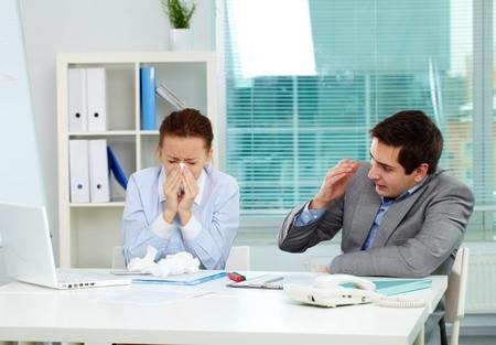 Flu Season at workplace.