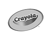 The logo of our client Crayola