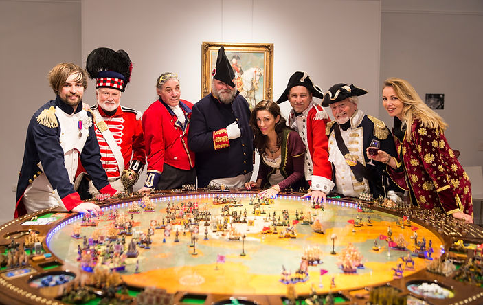 Napoleonic Games table by Andrew Rowland