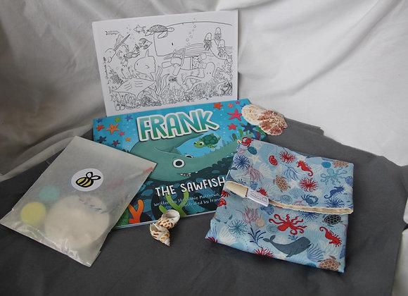 Handmade Hippo Ocean Box