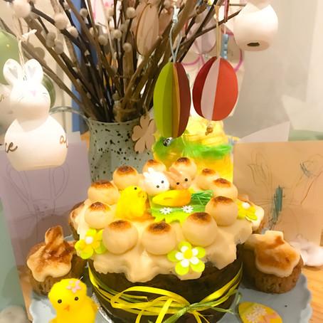 Mummy's Easter Simnel Cake
