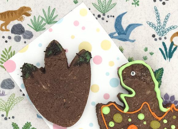 Handmade Hippo Dino Cookie Kit