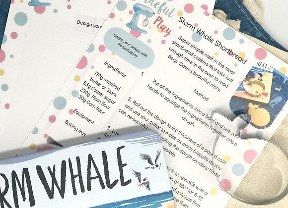 Handmade Hippo Storm Whale Set