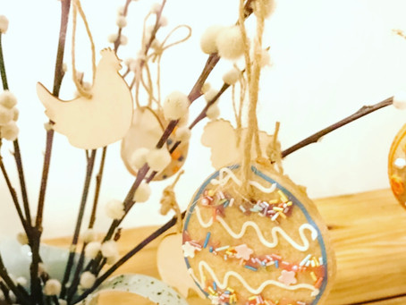 Easter Tree Biscuits