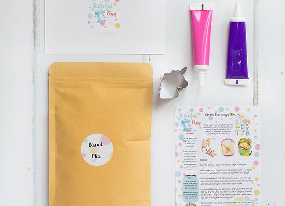 Unicorn Post Box Baking Kit