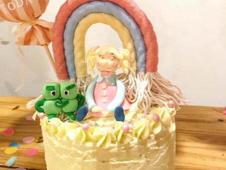 Jam Tart Birthday Cake