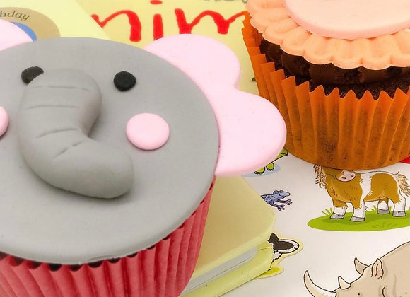 Children's Jungle CupcakeTopper Class - 18th August 10am