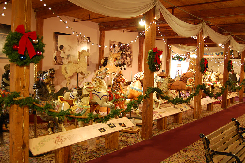 Holiday events at The Carousel Museu