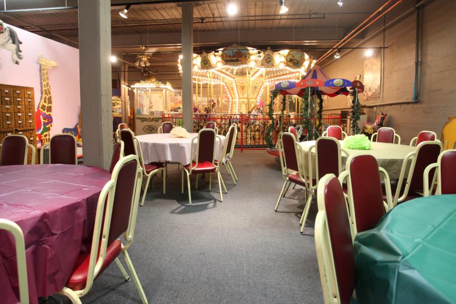 The Carousel Museum Birthday Parties