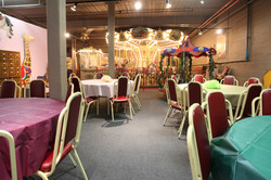New England Carousel Museum Children's Birthday Party Room 01