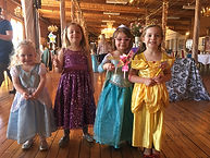 Princes theed birthdy party celebrations at the Carousel Museum in Bristol