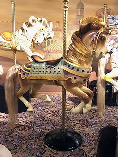 Bristol Horse at the Carousel Museum