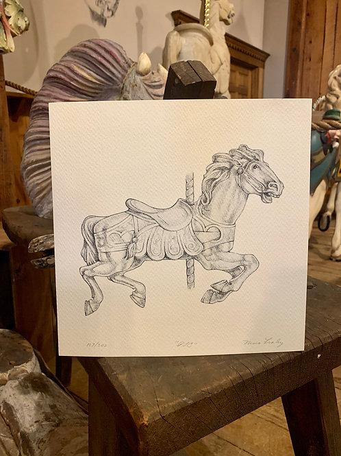 Nina Fraley Drawing Print