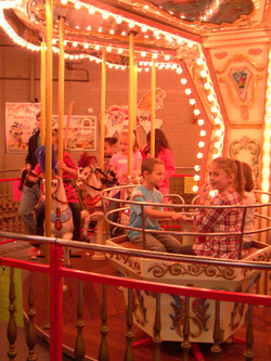 New England Carousel Museum Children's Birthday Party