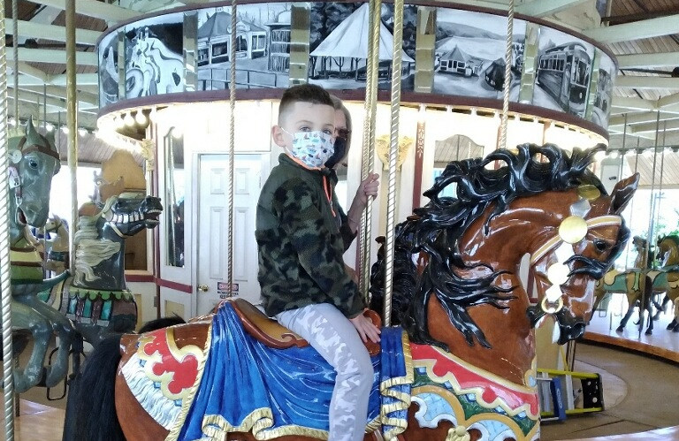 Next generation of Carousel lovers in the making.